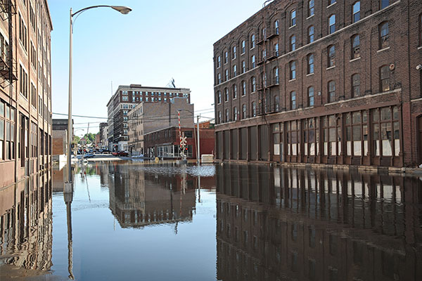 commercial flood damage cincinnati