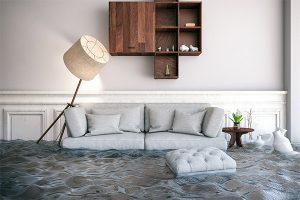 water damage living room cincinnati